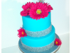 turquoise-bling-anniversary-cake
